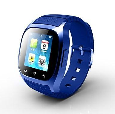 Reloj teléfono, fac @ Smartwatch M26 deporte Bluetooth Smart ...