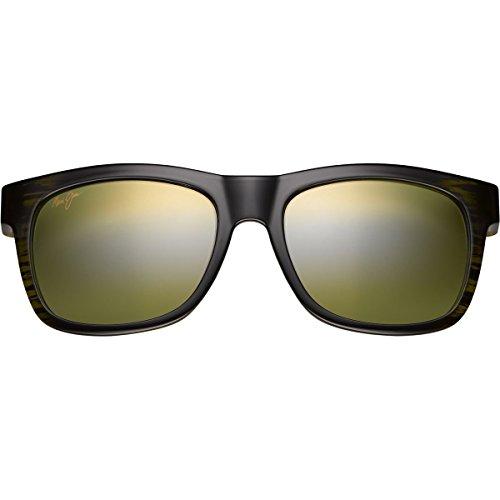 Unisex Green Jim Stripe Maui Snapback Ow50nqt