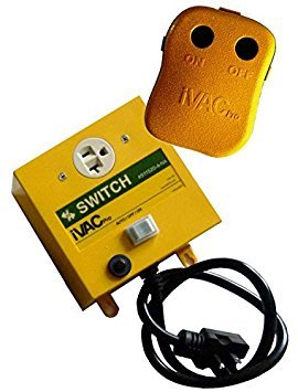 iVAC PRO 115-Volt Remote Control for Dust Collectors 1 Phase Dust Collector
