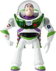 Disney Pixar Toy Story 4 Blast-Off Buzz Lightyear Figure, 7 in / 17.78 cm-Tall, with Lights, Phrases, Sounds a