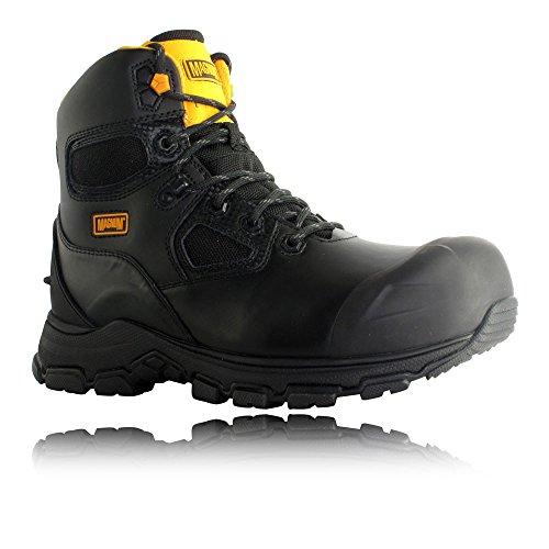 Magnum Hi Tec (Magnum Barcelona 6.0 Waterproof Work Boots - 7 - Black)