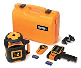 Johnson Level & Tool 40-6535 Electronic Self-Leveling Horizontal Rotary Laser Level with Dual Slope Feature