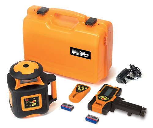 Rotary Level Control (Johnson Level & Tool 40-6535 Electronic Self-Leveling Horizontal Rotary Laser Level with Dual Slope Feature)