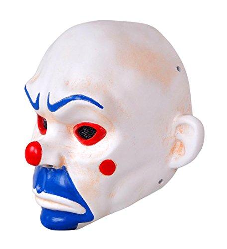 Gmasking The Knight Joker Clown Airsoft Full Face Paintball Halloween Mask Yellow]()
