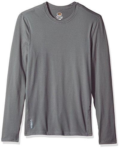 Duofold Men's Flex Weight Thermal Shirt, Thundering Gray, Medium by Duofold