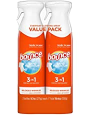 Bounce Rapid touch-up 3 In 1 Wrinkle Releaser Clothing Spray, 2 Count, 550 gram