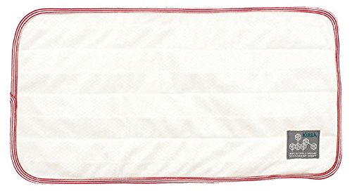 (KIREA Pet Senior Care Reusable Incontinence Pad (21 in x 11 in) (Red Border))