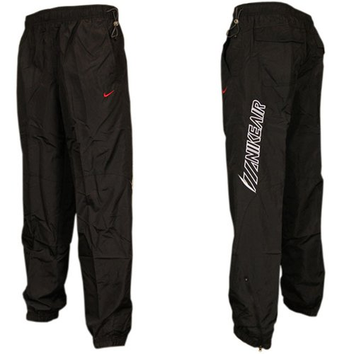best website a9698 91a66 Nike Air Running Jogging Bottoms Jog Pants Trousers Black/White Mens Size  (XL): Amazon.co.uk: Clothing