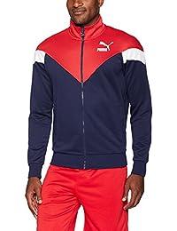 PUMA Mens MCS Track Jacket Sweatshirt
