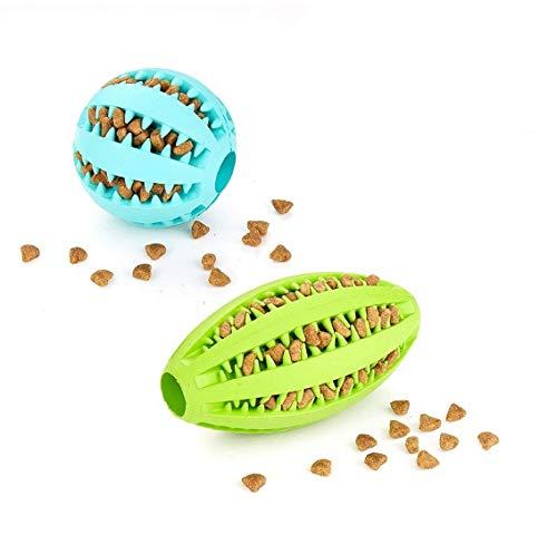 Hihey Juguetes para Perros Pelota y Huevo Snack (7 cm) y Pelota de ...