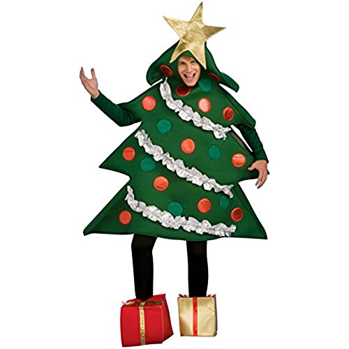 Rubieu0027s Menu0027s Christmas Tree Jumper with Present Boot Tops Multi Large  sc 1 st  Amazon.com & Christmas Costumes: Amazon.com