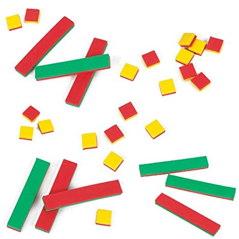 Amazon.com: EAI Education Algebra Tiles Introductory Classroom Kit ...