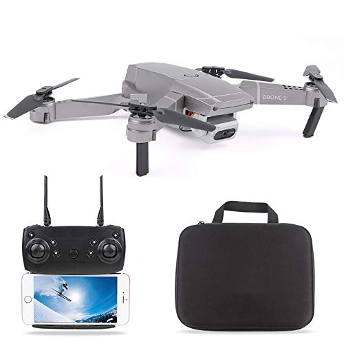 FPV WiFi Drone with 4K Camera Live Video 4CH 6-Axis Gyro Foldable RC Drone Quadcopter for Beginners with Altitude Hold…