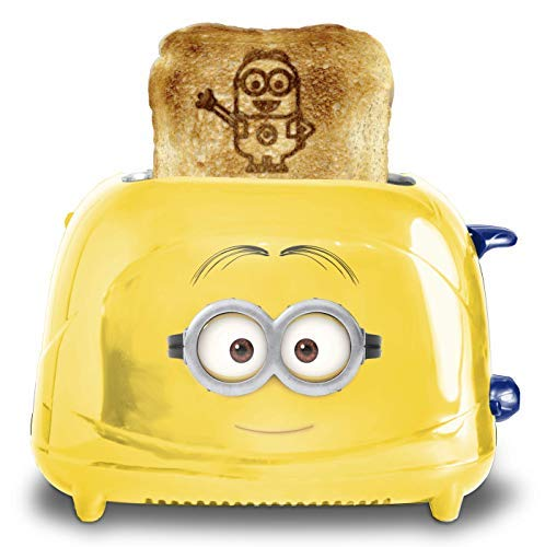 Uncanny Brands Minions Dave Two-Slice Toaster]()