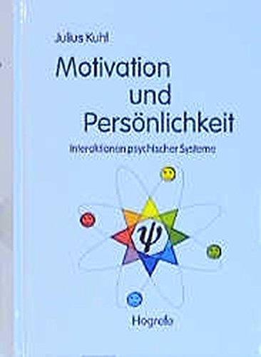 Read Online Motivation und Persönlichkeit. Interaktionen psychischer Systeme. pdf