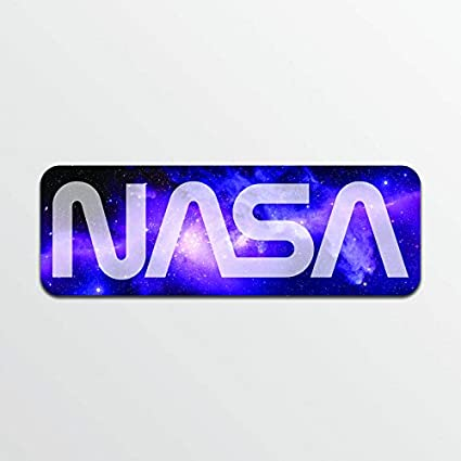 d7b6d9c1a8 Amazon.com  Nasa (2 Pack) Vinyl Decal Sticker