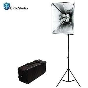 Limo studio 800 Watt Photo Studio Lighting Softbox Video Light Kit and Carry Case, AGG846