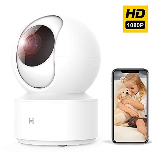 1080P Security WiFi IP Camera, Xiaomi HD Wireless Smart Home Video Surveillance System Indoor Dome Camera for Baby/Pet/Dog/Nanny Monitor, 2 Way Audio, Night Vision, Free Motion Alerts, Remote View