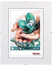 HAMA 63030 Clip-Fix Cornice a Giorno, 30 x 40 cm, bianco, vetro