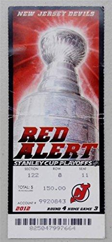 2012 Los Angeles Kings vs Devils Stanley Cup Championship Ticket Game 5 Stub (Los Angeles Kings Vs New Jersey Devils)