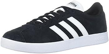 adidas Men&#39s Vl Court 2.0 Sneaker (Black)