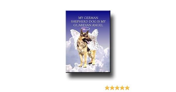 "German shepherd  refrigerator magnet 3 1//2x 4 1//2/"""