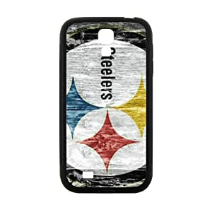 SKULL Creative Steelers Pattern Fahionable And Popular Back Case Cover For Samsung Galaxy S 4
