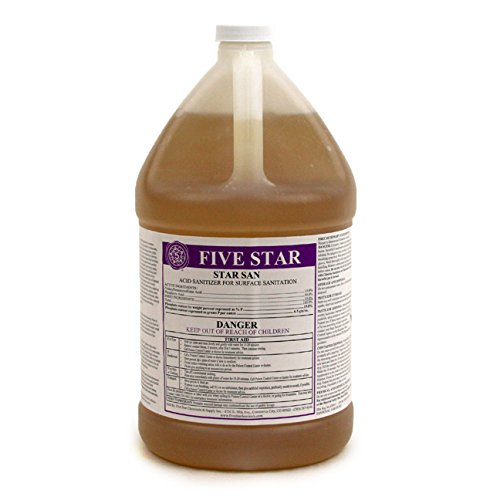 Five Star 1 Gallon Star San No Rinse Acid Sanitizer Homebrew Brewing Equipment by Five Star