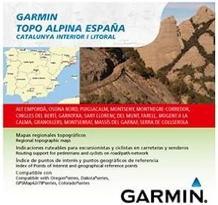 Garmin Topo Alpina España - Mapas para GPS, Cobertura geográfica ...
