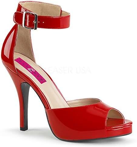 Pleaser Women's Eve02/r Platform Dress Sandal