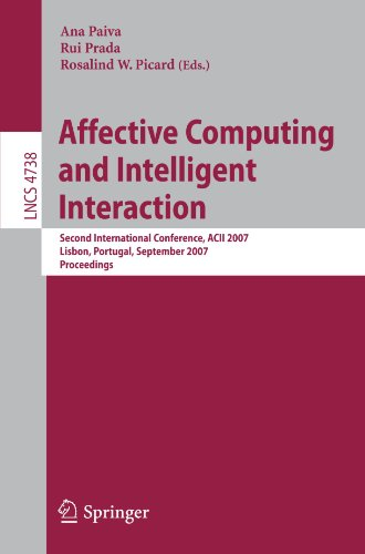Affective Computing and Intelligent Interaction: Second International Conference, ACII 2007, Lisbon, Portugal, September 12-14, 2007, Proceedings (Lecture Notes in Computer - Prada Website