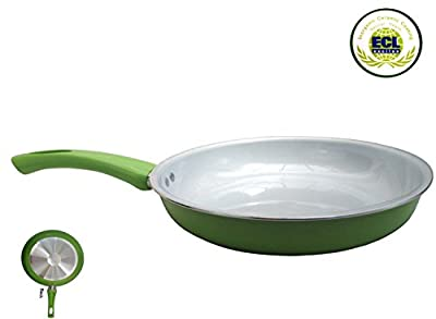 """Royal Healthy 10"""" Nonstick Ceramic Coated Frying Pan - Eco Friendly Durable Fry Pan"""