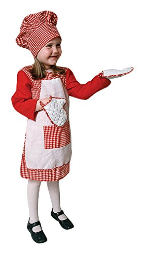 (Dress Up America Red Gingham Girl Chef - Toddler T2)