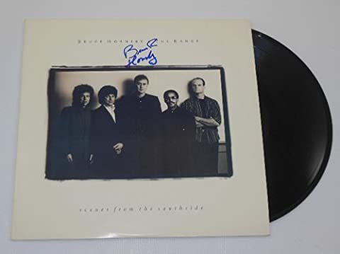 Bruce Hornsby Scenes from the Southside Signed Autographed Lp Record Album Vinyl Loa - Signature Camp Shirts