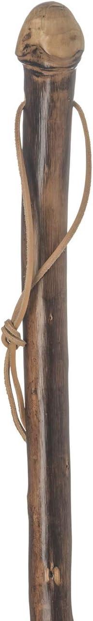 Pomo de madera con corchetes, bastón de madera para senderismo, escalera: Amazon.es: Salud y cuidado personal