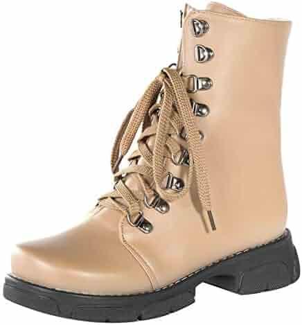 6afbd9d42d8d4 Shopping Ivory or Orange - Lace-up - Boots - Shoes - Women ...