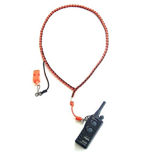 Heavy Hauler Outdoor Gear Swivel Clip Lanyard, w/ side dropper, Orange/Black