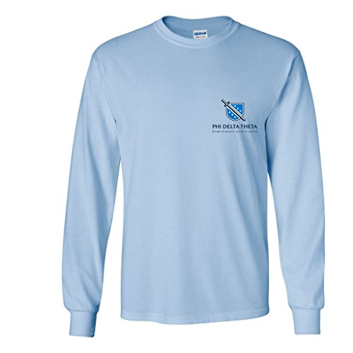 Phi Delta Theta Long Sleeve Shirt Front-