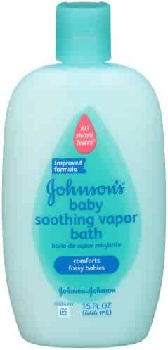 JOHNSON'S Soothing Vapor Bath 15 oz ( Pack of 2)