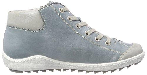 Sneaker R1488 Hohe Remonte Blau Damen Sky Silber ZOzqf7xw