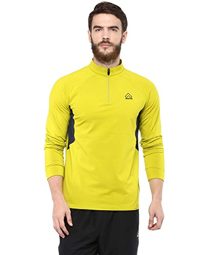 Aurro Sports Yellow Agile Sweat (Size:- M)