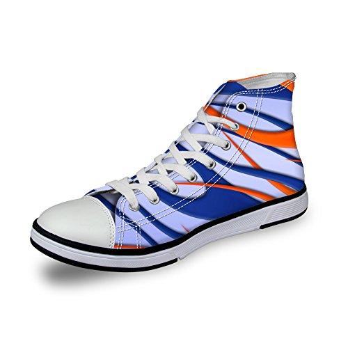 Kramar Idé Färgglada Mode Kvinna Kängor Tygskor Sport Sneakers Coloful 15