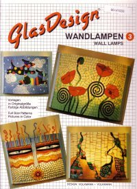 GlasDesign Wall Lamps 3 Stained Glass Pattern Book