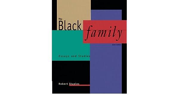 the black family essays and studies robert staples