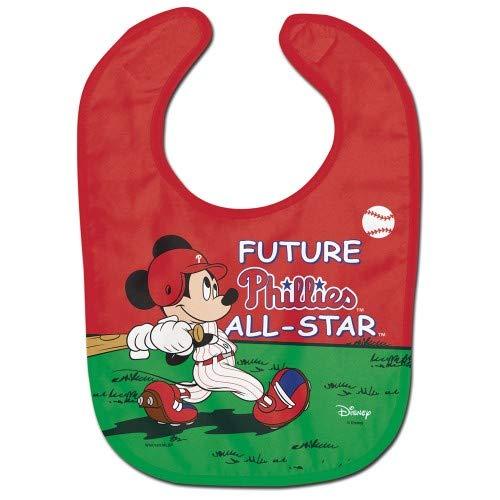 - Philadelphia Phillies Mickey Mouse Future All Star All Pro Baby Bib