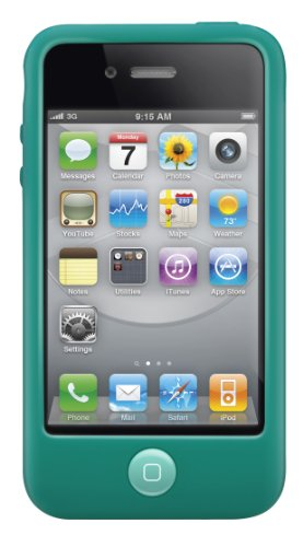 Switcheasy Silicone Case (SwitchEasy Colors Silicone Case for iPhone 4 & 4S - Turquoise)