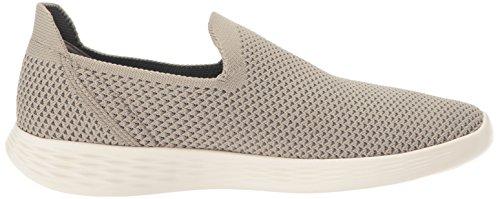 Skechers Dames Definieer Je Sneaker Taupe