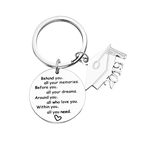 2019 Graduation Gift Keychains-Go Confidently in The Direction of Your Dreams Live The Life You Have Imagined (Style 2)]()
