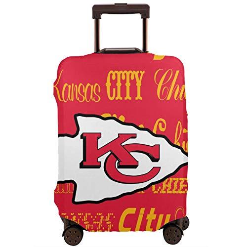 - Weckim Kansas City Chiefs Suitcase Cover, Washable Flexible Travel Luggage Protective Jacket,Travel Suitcase Protector