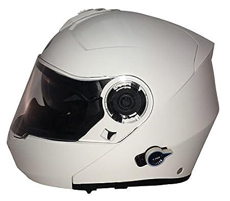 Viper RS-V151 Bluetooth Flip UP DVS Helmet Motorcycle Motorbike Matt Black Flash XS